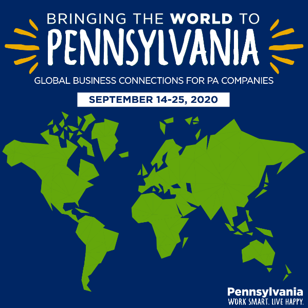 Bringing the World to PA Events (September 14-25, 2020)